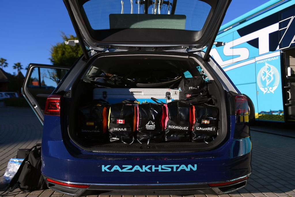 Astana.- Premier Tech Team Car Bags