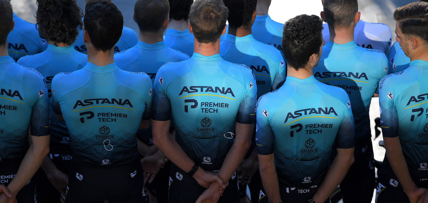 Astana - Premier Tech Team Photo Rear